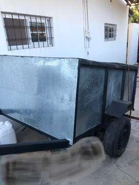 Carro Trailer Cerrado