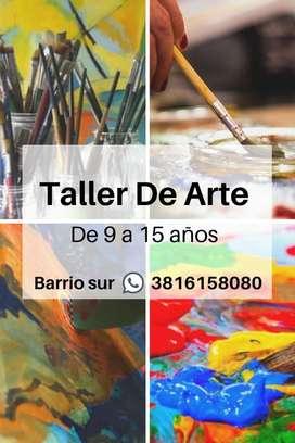 Taller de arte, de 9 a 15 años