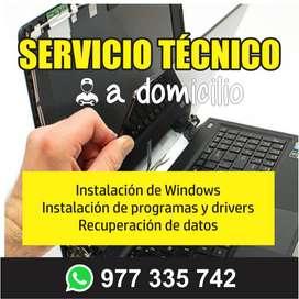 Mantenimiento de computadoras y laptop