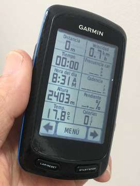 GARMIN EDGE 800 AZUL CICLOCOMPUTADOR GPS DE PANTALLA TÁCTIL PARA CICLISMO ORIGINAL COMPLETO