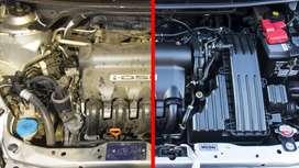Vapor. limpieza de motores con vapor destilado