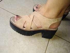 Sandalia color hielo
