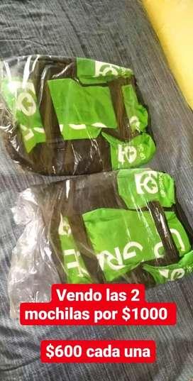 Vendo 2 mochilas de UPGRADE TURISMO nuevas