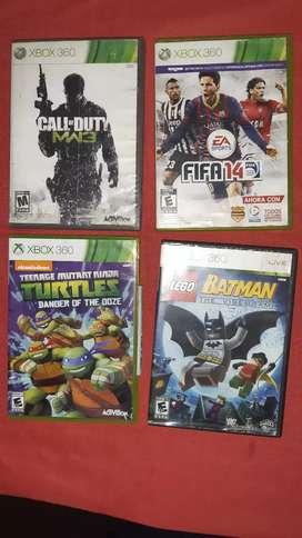 Vendo o cambio video juegos de Xbox 360