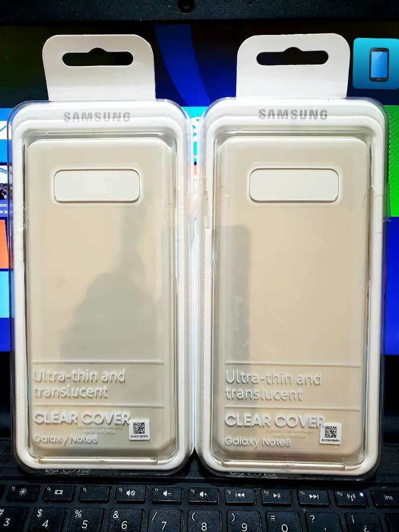 CLEAR COVER SAMSUNG NOTE 8 0