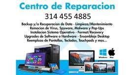 Reparación de Computadoras Y Laptos