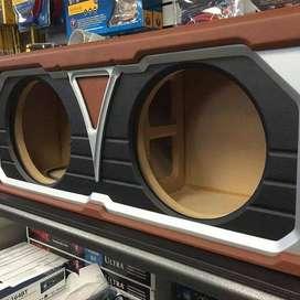 Fabríco cajas parlantes acústicas pasivas y activas