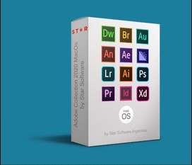 Todos los programas Adobe 2020 para MacOs Catalina + guia de instalacion + garantia
