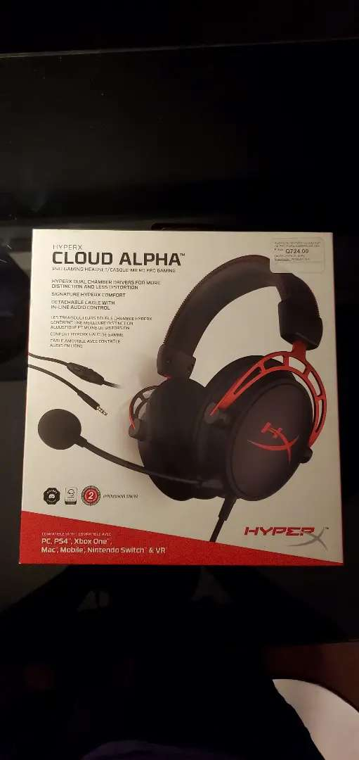 Hyper x cloud alpha 0