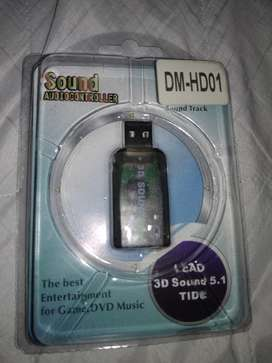 Tarjeta Sonido USB