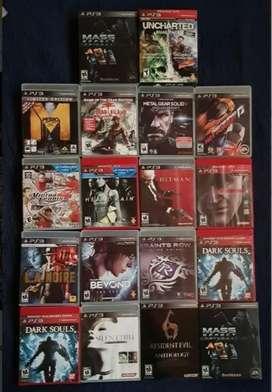 Juegos de Play Station PS3 variados, sellados y abiertos