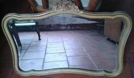 Espejo Provenzal antiguo vintage .