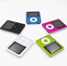 Reproductor Digital Mp4 Y Mp3 Player Fm Colores