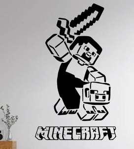 Vinilo Videojuego MINECRAFT