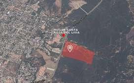 Lote diagonal a Santa Rosa del Lima