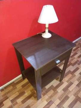 Mesa de Madera + Velador