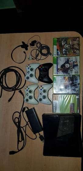 Xbox 360 Slim 500gb Juegos Y Mas