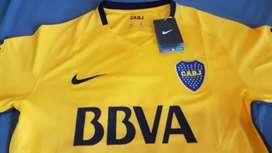 LIQUIDACION! Camiseta Oficial Boca Juniors Amarilla 2018 Talles Adultos!