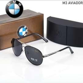 Lentes BMW M3 Aviador polarizado HD con proteccion UV400