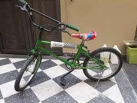 Bicicleta niños usada