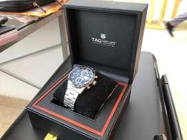 Vendo reloj TAG Carrera Calibre 16. 100 Meters. Con certificado.