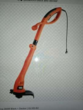 Podadora black and decker