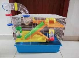 Jaula de Hamsters Tres Niveles Grande