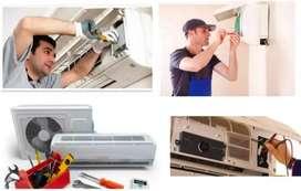 Refrigeración en gral e instalación de aire acondicionados