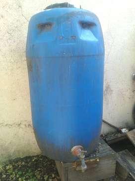 Bidón de plástico 160 litros