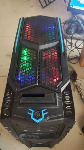 Torre gamer Core i5 + 12gb ram + aceleradora gráfica + 2tb disco duro + fuente 750w reales + chasis gamer termaltake