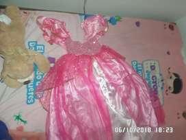 Hermoso Disfraz de princesa FANTASTIC NIGHT Talla 4