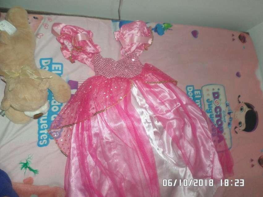 Hermoso Disfraz de princesa FANTASTIC NIGHT Talla 4 0