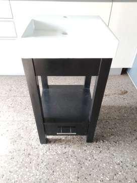 Mueble con un cajon + bacha de apoyo