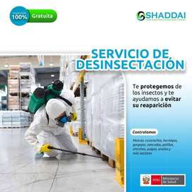 SERVICIO DE DESINFECCION,FUMIGACION DESRATIZACION