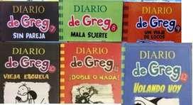 Diarios de Greg x 6 libros a eleccion disponible 1-13 nuevos