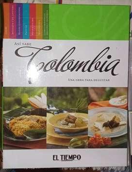 Libro de Cocina Colombiana