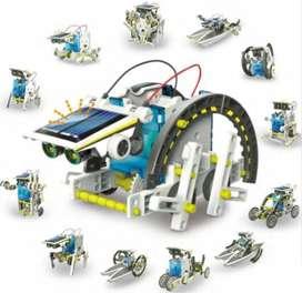Kit 13 En 1 Motor Con Panel Solar Para Armar Educacional