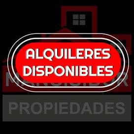 ►MANCISIDOR PROP◄ ALQUILERES DISPONIBLES