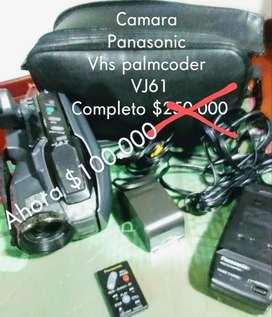 Camara Panasonic de Casset pequeño