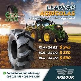 LLANTAS AGRICOLAS 12,4 - 24 R2 /  14,9 - 24 R2 /  18,4 - 34 R2
