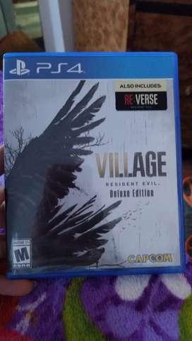 Resident evil village edición deluxe