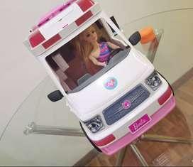 Ambulancia de Barbie