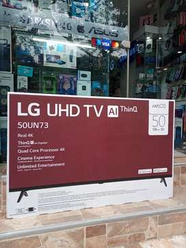 TV LG Smart 50 pulgadas 4k nuevo