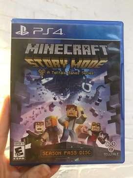 Minecraft story mode ps4