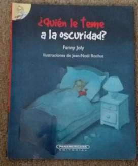 Libro Quien Le Teme a La Oscuridad.