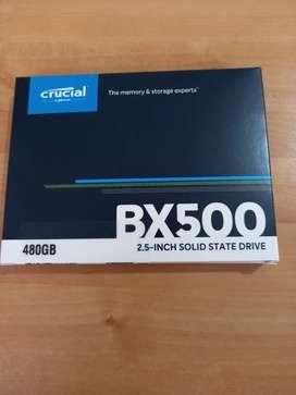 Disco solido crucial 480gb bx500  2.5