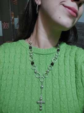 Collar de plata Importado