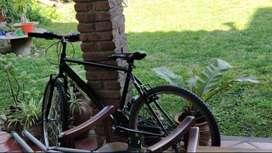 Bicicleta Rodado 26 negra