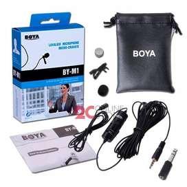 Microfono Solapero Boya By M1