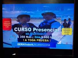 ¡¡ CUTSO AZAFATAS PRIMIUM  PRESENCIAL !!